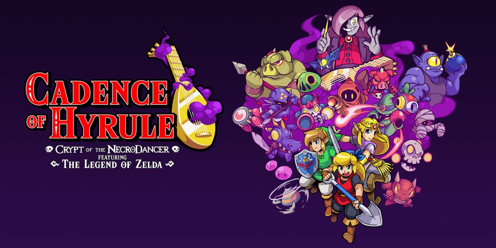 Game completion 2019 #17 – Cadence of Hyrule: Crypt of the NecroDancer Featuring The Legend of Zelda