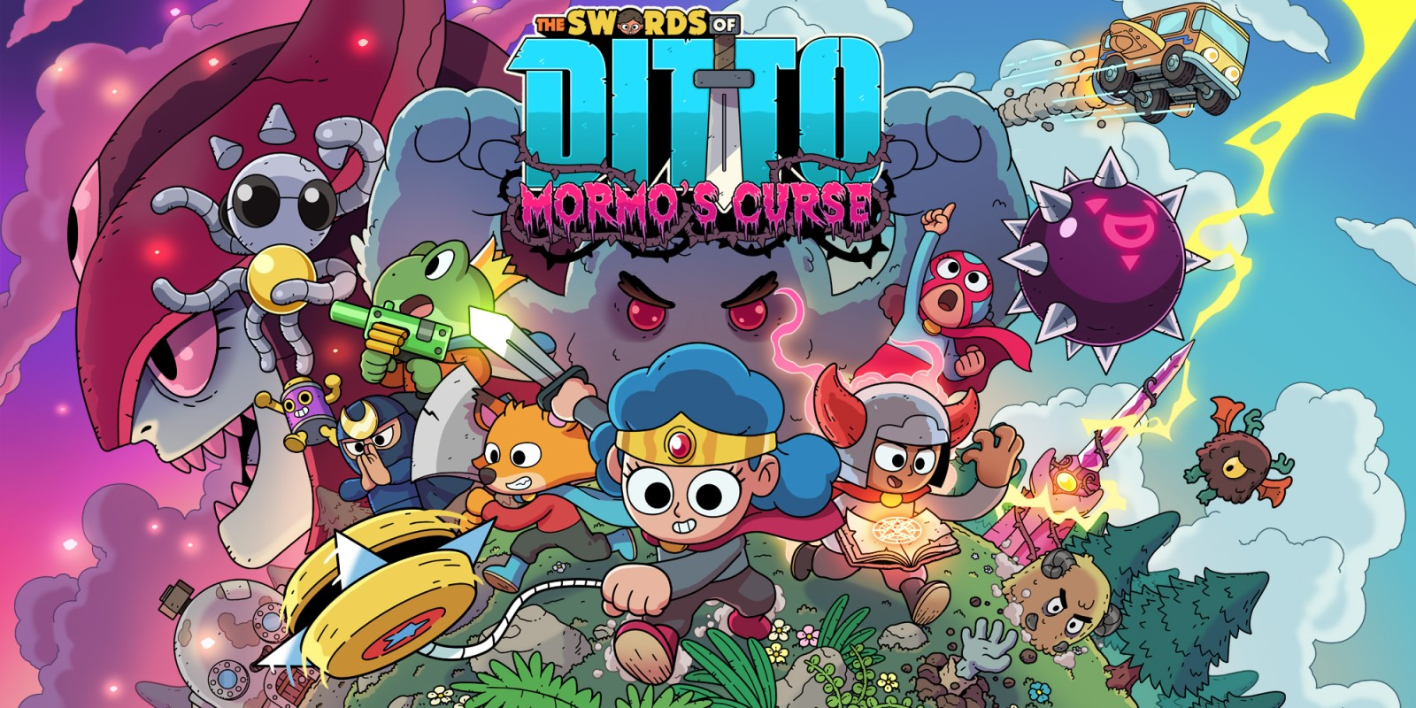 Game completion 2019 #15 – The Swords of Ditto: Mormo's Curse