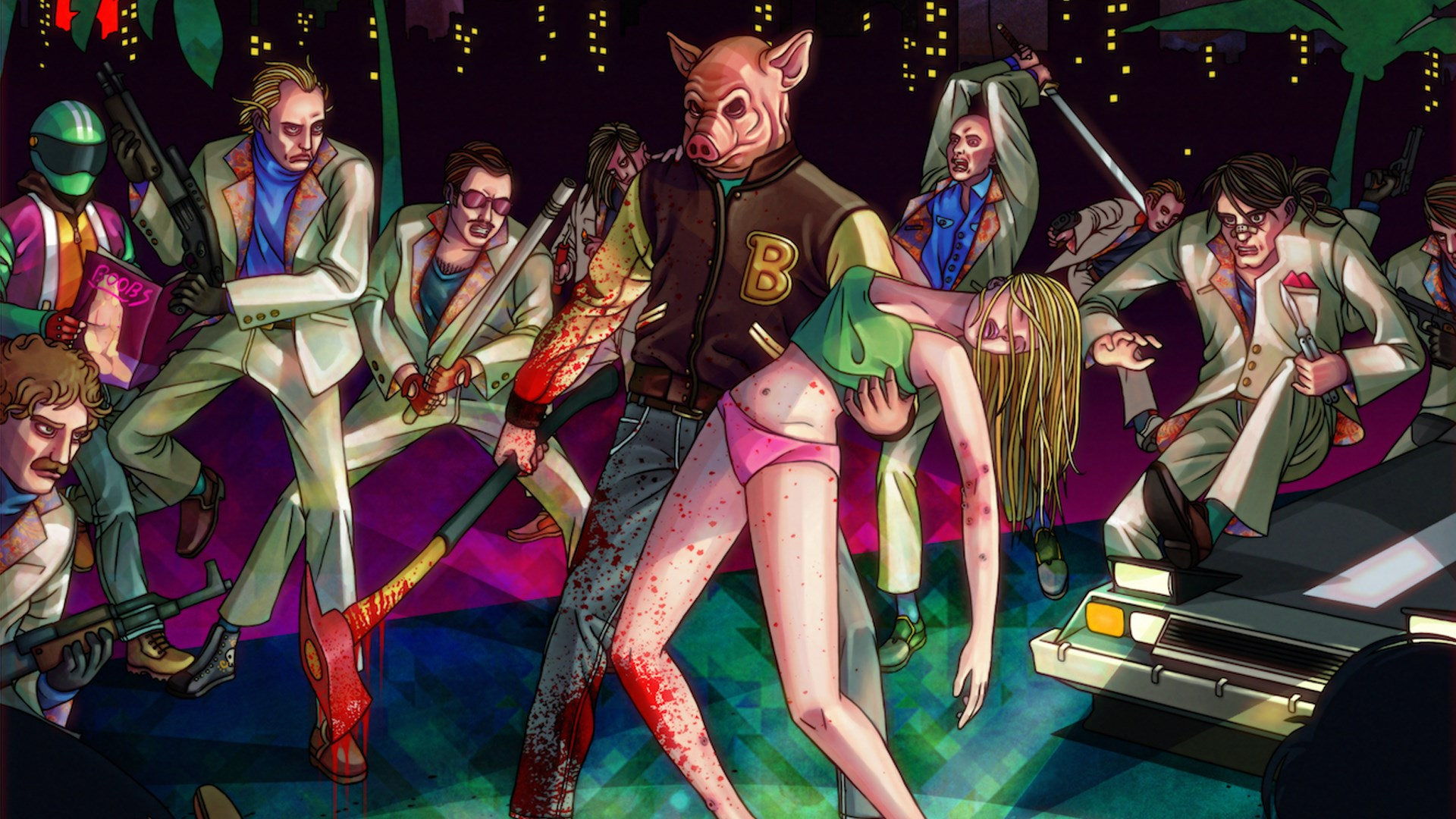 Game completion 2019 #29 – Hotline Miami