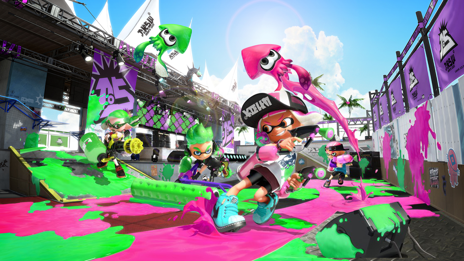 Game Completion 2018 #37 – Splatoon 2 (single-player)