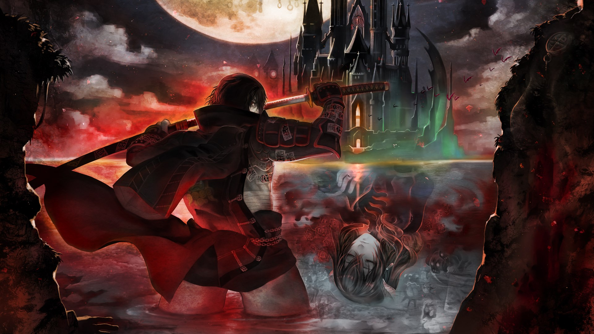 Game completion 2019 #12 – Bloodstained: Curse of the Moon