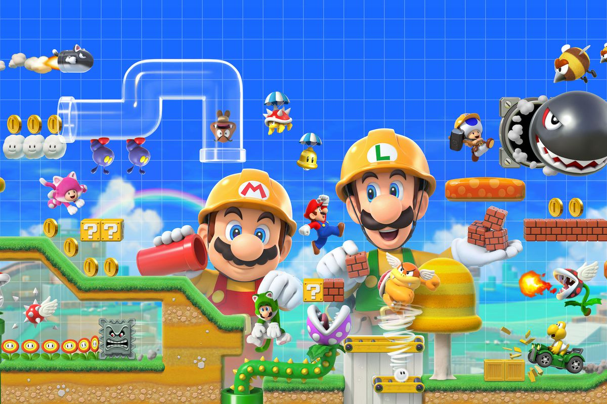 Game completion 2019 #24 – Super Mario Maker 2 (Story Mode)