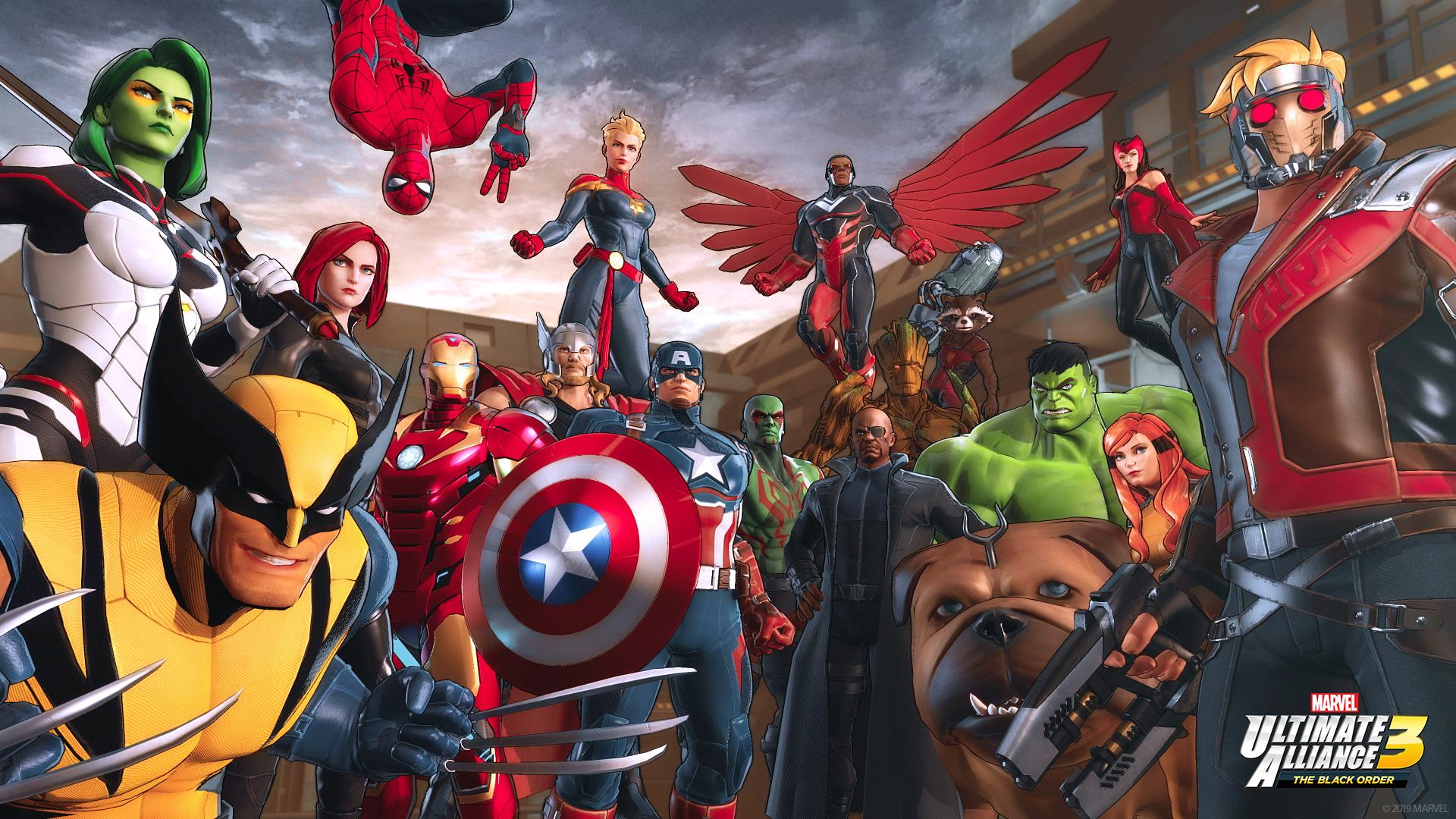 Game completion 2019 #23 – Marvel Ultimate Alliance 3: The Black Order