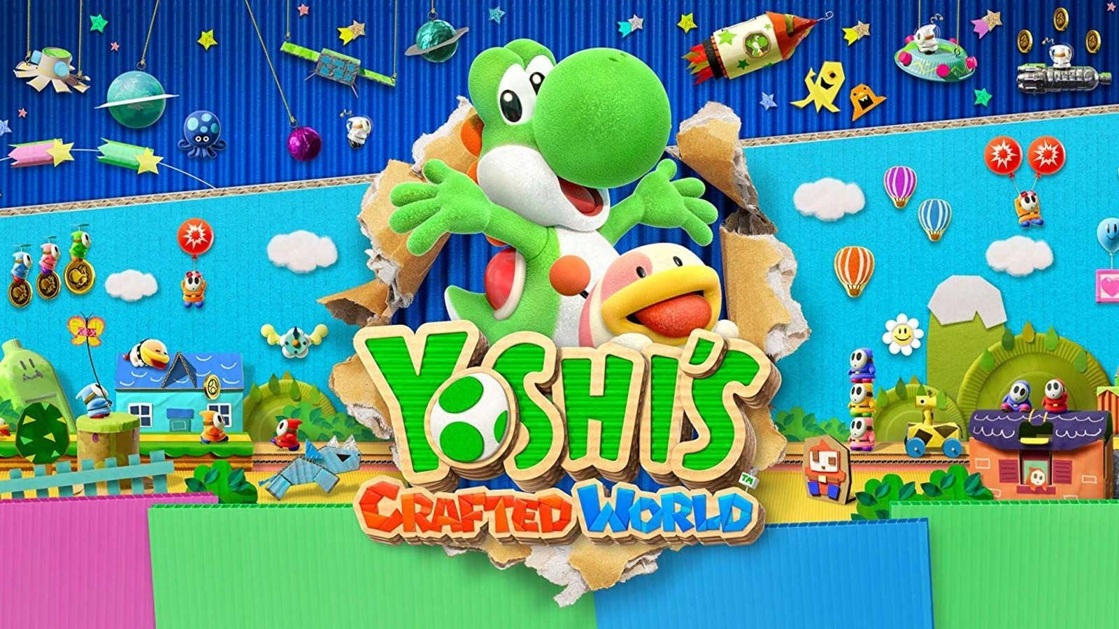 Game completion 2019 #43 – Yoshi's Crafted World